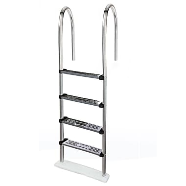 Blue Wave Premium Stainless Steel In-Pool Ladder For Above-Ground Pools