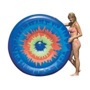 Swimline® 65 Tie-Dye Island Inflatable Pool Toy, Blue/Orange/Green