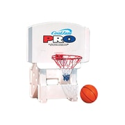 Swimline® Cool Jam Pro™ Poolside Basketball Game Pool Toy For In-Ground Pools, White