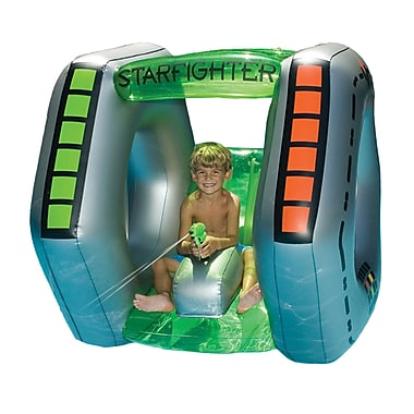 Swimline® Starfighter Super Squirter Inflatable Pool Toy, Gray