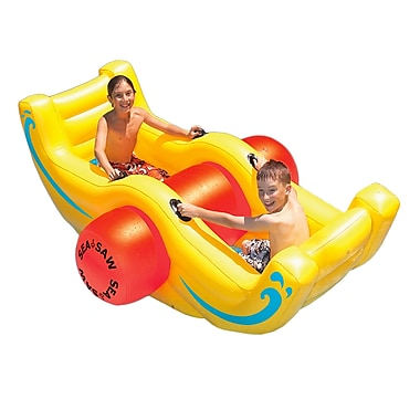 Swimline® Big See-Saw Rocker Inflatable Pool Toy, Yellow
