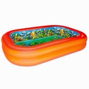 Bestway® Splash & Play™ Interactive 3D Adventure Inflatable Pool, Orange