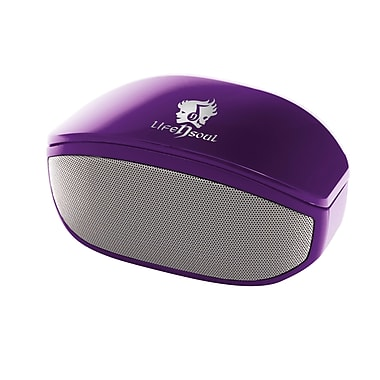 Life n Soul, Bluetooth Stereo Speaker, Purple