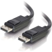 C2G - AV LINE DisplayPort Cable with Latches Male to Male, 15'