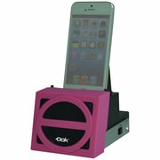 DOK™ Speaker Cradle With Rechargeable Battery, Pink