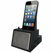 DOK™ Portable Universal Cradle With Speaker System (Bluetooth)/Rechargeable Battery