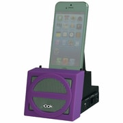 DOK™ Portable Universal Cradle With Speaker System (Bluetooth)/Rechargeable Battery, Purple