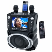 "Karaoke USA GF830 DVD/CDG/MP3G Bluetooth Karaoke System With 7"" TFT Color Screen and Record Function"