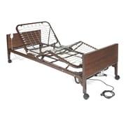 Medline Plastic, Woodgrain Semi Electric Hospital Bed, MedLite