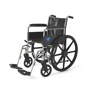 Medline Excel Wheelchair, Black