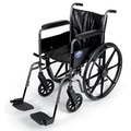 Medline Basic Vinyl Wheelchair