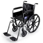 Medline Basic Vinyl Wheelchair