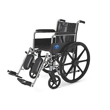 Medline Carbon Steel Wheelchair