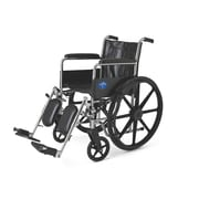 Medline Carbon Steel Wheelchair