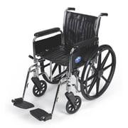 Medline Vinyl Wheelchair 36.61 x 12.59