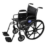 Medline Basic Carbon Steel Wheelchairs