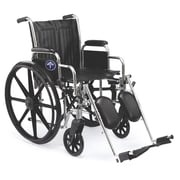 Medline 2000 Carbon Steel Extra-Wide Wheelchairs