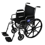 Medline K1 Basic Tig Welded Extra-Wide Wheelchairs