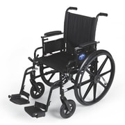 Medline K4 Lightweight Stainless Steel & Nylon Wheelchairs
