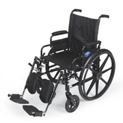 Medline K4 Nylon Upholstery Extra-Wide Lightweight Wheelchairs