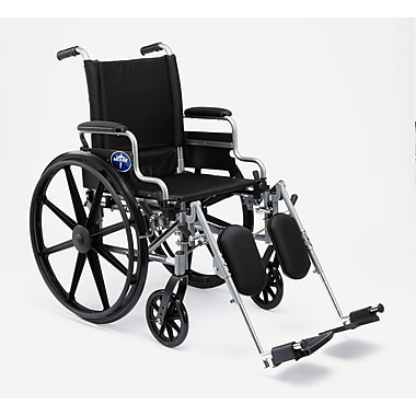 Medline K4 Basic Lightweight Carbon Steel Wheelchair