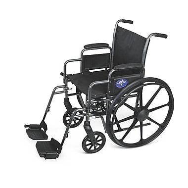 Medline Basic Lightweight Wheelchair, Gray