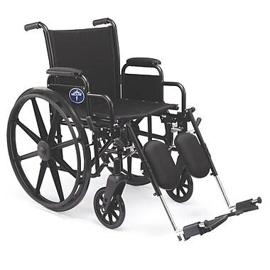 Medline K3 Basic Carbon Steel Lightweight Wheelchairs