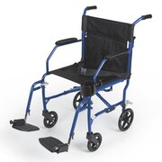 Medline Freedom Transport Nylon Wheelchair