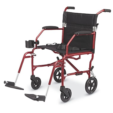 Medline Ultra Lightweight Transport Wheelchair