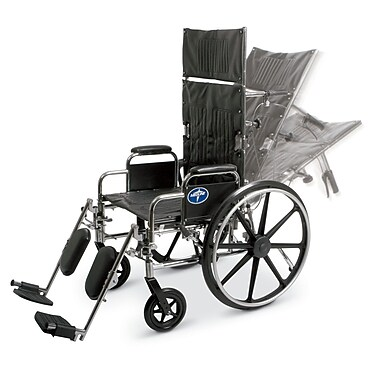 Medline Reclining Vinyl Wheelchairs