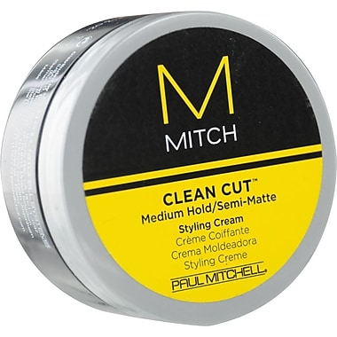 Paul Mitchell® Men Clean Cut™ Mitch Medium Hold/Semi-Matte Styling Cream, 3 oz.