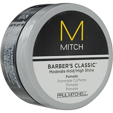 Paul Mitchell® Men Barber's Classic™ Mitch Moderate Hold/High Shine Pomade, 3 oz.