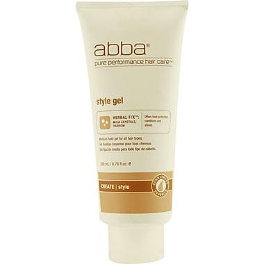 ABBA® Medium Hold Style Gel, 6.76 oz.