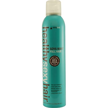 Hair® Healthy Hair Soya Want Full Hair Firm Hold Hair Spray, 9.1 oz.