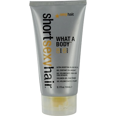 Hair® Short Hair What A Body™ Ultra Bodifying Blow Dry Gel, 5.1 oz.