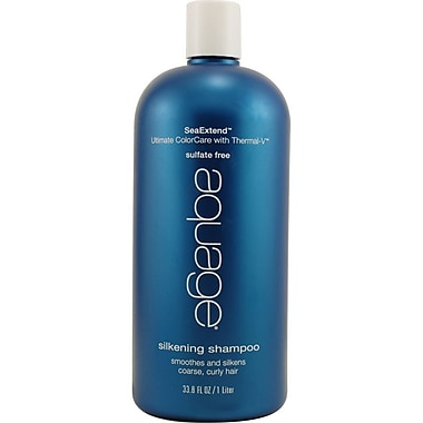 Aquage® Silkening Shampoo For Smoothing Coarse, Curly Or Frizzy, 33.8 oz.