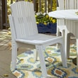 Uwharrie Carolina Preserves Dining Side Chair; Twilight Blue (Distressed)