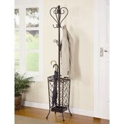 Wildon Home   Metal Coat Rack with Umbrella Stand