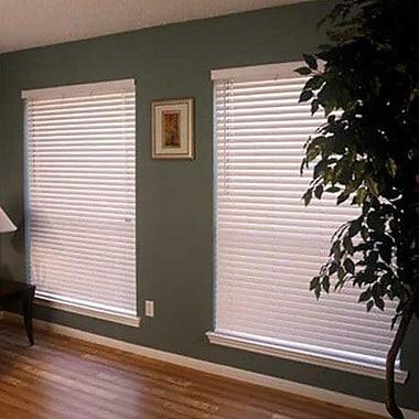 Fauxwood Impressions FauxWood Impressions Energy Efficient Venetian Blind; 28'' W x 36'' L
