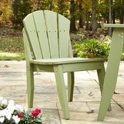 Uwharrie Plaza Dining Side Chair; Twilight Blue (Distressed)
