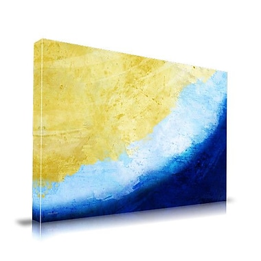 Maxwell Dickson Waves Painting Print on Wrapped Canvas; 18'' H x 24'' W