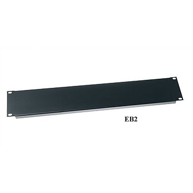 Middle Atlantic 19'' W Flanged Economical Blank Panel; 8 3/4''H (5U space)
