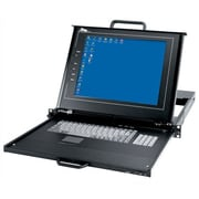 Middle Atlantic Rackmount with LCD, Keyboard and Touchpad; 8 Port