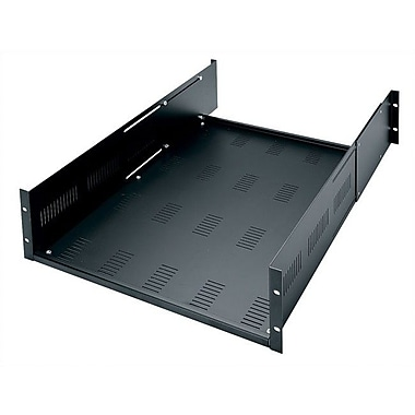 Middle Atlantic Adjustable Heavy Duty Vented Rack Shelf, 3U Space (5 1/4'')