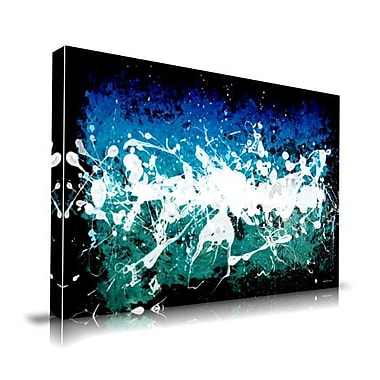 Maxwell Dickson Deep Sea Painting Print on Wrapped Canvas; 20'' H x 30'' W