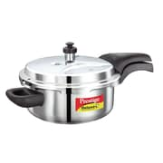 Prestige Cookers Deluxe Stainless Steel Pressure Cooker; 3 Liter