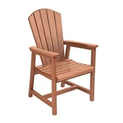 CR Plastic Products Generations Dining Arm Chair; Cedar