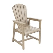 CR Plastic Products Generations Dining Arm Chair; Beige