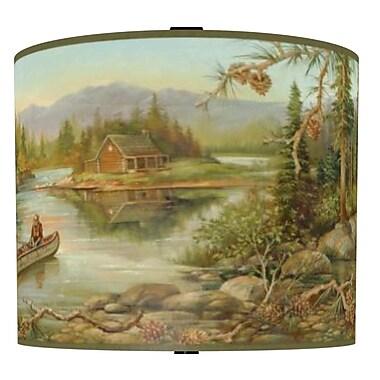 Illumalite Designs Rustic Creek Drum Lamp Shade; 7''