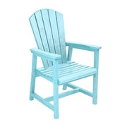 CR Plastic Products Generations Dining Arm Chair; Aqua